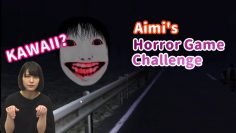 Aimi plays a horror game