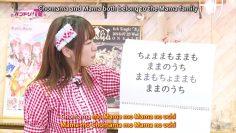 [Eng Sub] AimiAmi doing the Chomama (ft. MocaRan, AyaChisa)