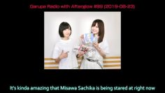 [Eng Sub] Ayaneru makes Sacchan nervous by looking at her (Afuraji #99 Part 2)