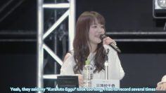 [Eng Sub] Misawa Sachika on recording Mocas Kurafuto Eggu (Afterglow Radio Garuparty: Part 2)