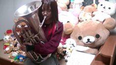 [Eng Sub] Nishimoto Rimi playing the euphonium!