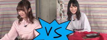 [Eng Sub] Ogura Yui VS Ozaki Yuka, Round 3 – Tablecloth Pulling! (2019-03-17)