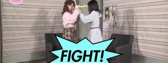 [Eng Sub] Ozaki Yuka VS Ogura Yui, Round 2 – Hand Sumo! (2019-03-10)