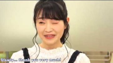 ENSub – Satohina and Haruchan cannot wink