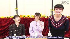 How Miyu Takagi met Tsumugi Risa & Kohara Riko/TsumuTsumu touches Miyus butt experience? [ENG SUB]