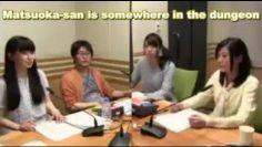 Minase Inori and Oonishi Saori talk about DanMachi cast [Eng Sub]