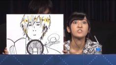 Sakura Ayane draws Matsuoka Yoshitsugu as a seiyuu