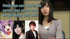 Sakura Ayane talks about how gentleman Matsuoka Yoshitsugu is