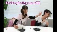 Yahagi Sayuri whos pissed off by Sakura Ayane [Choroi]
